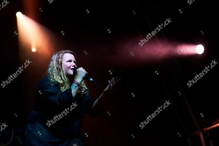 Bristish hip hop singer Kate Tempest performs on stage during the concert on the second day of the Primavera Sound music festival in Barcelona, Catalonia, north eastern Spain, 31 May 2019, an event running from 30 May until 01 June.