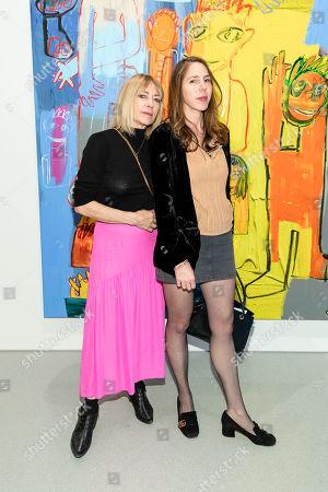 Kim Gordon and Rachel Kushner