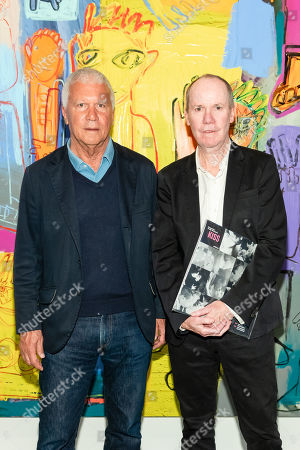 Larry Gagosian and Richard Prince
