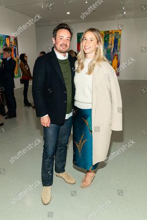 Stock Photo of Alex Liberman and Meredith Darrow