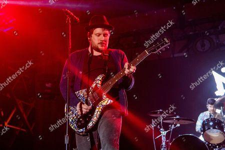 Patrick Stump performs at the Bunbury Music Festival, in Cincinnati