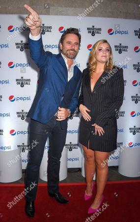 Charles Esten and Lauren Alaina