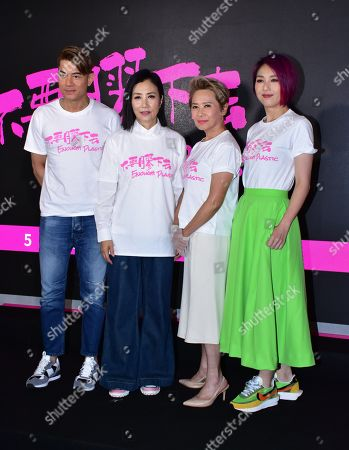 Aaron Kwok and Miriam Yeung call on people to decrease the use of disposable plastic