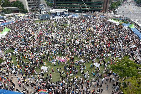 Queer Culture Festival Seoul Stock Photos (Exclusive