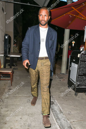Editorial photo of Frank Ocean out and about, Los Angeles, USA - 31 May 2019