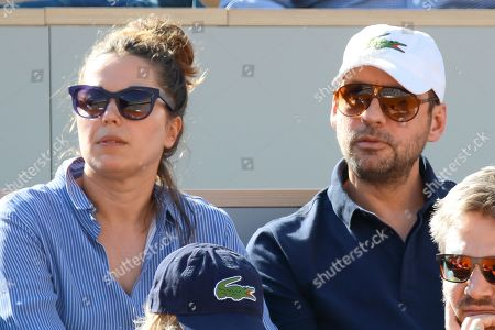 Fred Testot and his wife