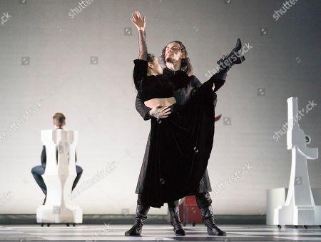 Stock Image of Elena Ilinykh as Tsarina, Sergei Polunin as Rasputin,