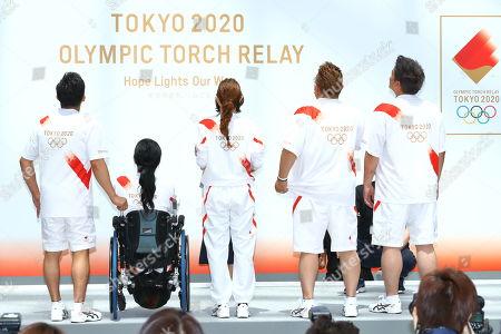 (L-R) Tadahiro Nomura, Aki Taguchi, Satomi Ishihara, Mikio Date, Takeshi Tomizawa