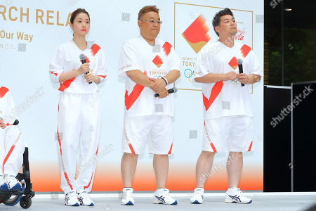Editorial photo of Tokyo 2020 Olympic Torch Relay press conference, Japan - 01 Jun 2019