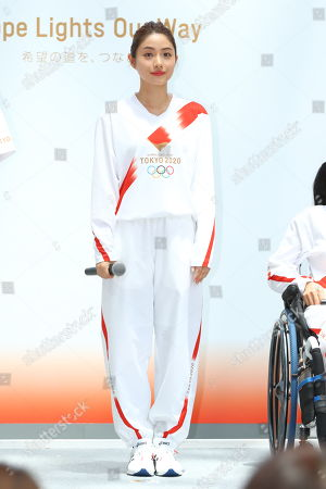Editorial picture of Tokyo 2020 Olympic Torch Relay press conference, Japan - 01 Jun 2019
