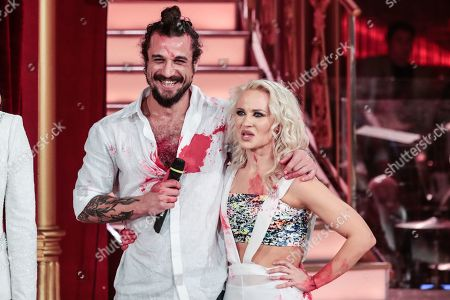 Editorial image of 'Dancing with the Stars' TV show, Rome, Italy - 31 May 2019