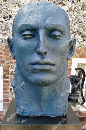 Monumental blue Head by Sophie Kinsella