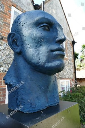 Stock Image of Monumental blue Head by Sophie Kinsella
