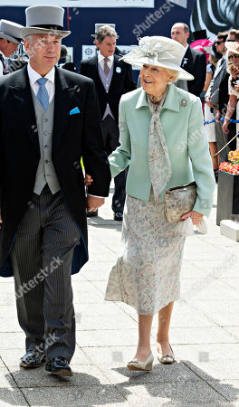 Princess Alexandra of Kent arrives at the Derby.