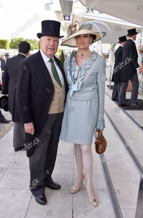 Stock Picture of Lord & Lady Fellowes