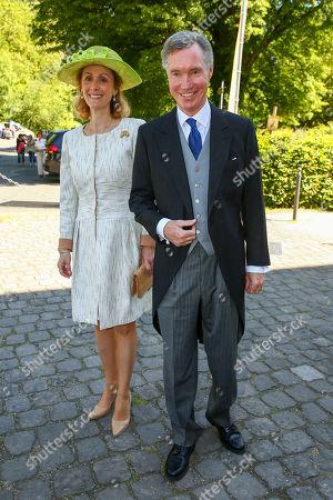 Hereditary Grand Duke Guillaume of Luxembourg of Luxembourg and Princess Sibilla of Luxembourg
