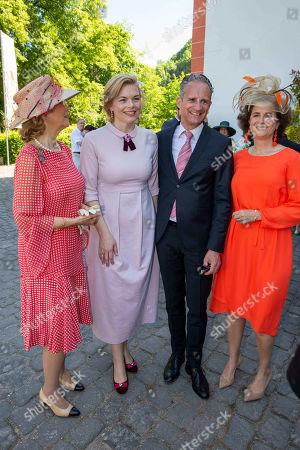Princess Gabriela to Sayn Wittgenstein, Julia Kloeckner, Ralph Grieser and Princess Alexandra to Sayn Witggenstein