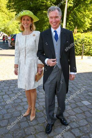 Editorial image of Wedding of  Prince Casimir Sayn-Wittgenstein-Sayn and Alana Bunte, Sayn Castle, Bendorf, Germany - 01 Jun 2019