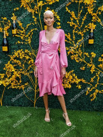 Editorial photo of 12th Annual Veuve Clicquot Polo Classic, Arrivals, Liberty State Park, New Jersey, USA - 01 Jun 2019