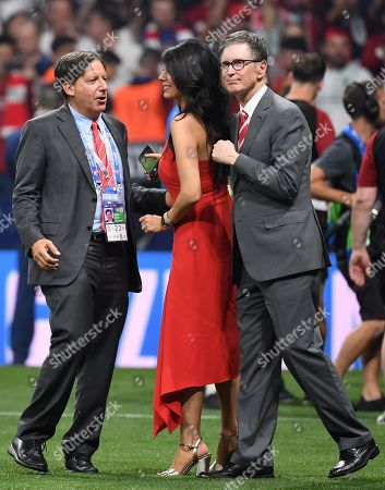Liverpool owner John Henry (R) and hiswife Linda Pizzuti celebrate after winning the UEFA Champions League final between Tottenham Hotspur and Liverpool FC at the Wanda Metropolitano stadium in Madrid, Spain, 01 June 2019.