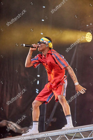 Stock Photo of Wizkid aka Ayodeji Ibrahim Balogun