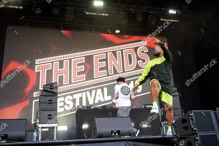 Editorial photo of The Ends Festival, Lloyds Park, Croydon, London, UK - 01 Jun 2019