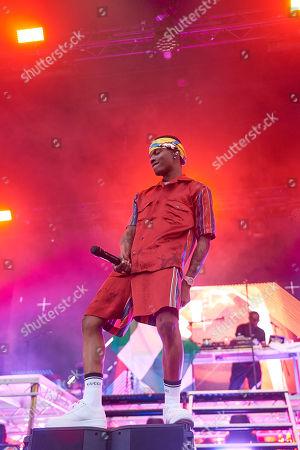 Wizkid aka Ayodeji Ibrahim Balogun