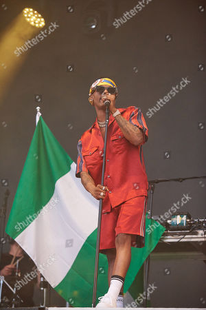 Stock Picture of Wizkid aka Ayodeji Ibrahim Balogun