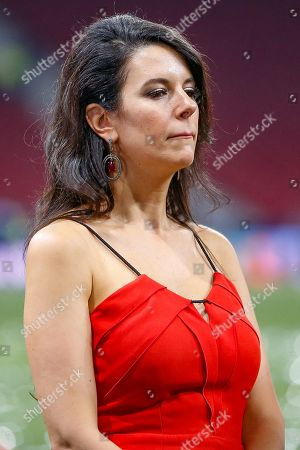 CHAMPIONS Linda Pizzuti Henry, the wife of John W Henry, Liverpool owner, after the UEFA Champions League Final match between Tottenham Hotspur and Liverpool at Wanda Metropolitano Stadium, Madrid