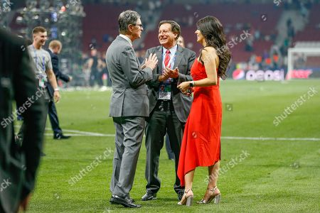 CHAMPIONS John W Henry, Liverpool owner, and his wife Linda Pizzuti Henry after the UEFA Champions League Final match between Tottenham Hotspur and Liverpool at Wanda Metropolitano Stadium, Madrid