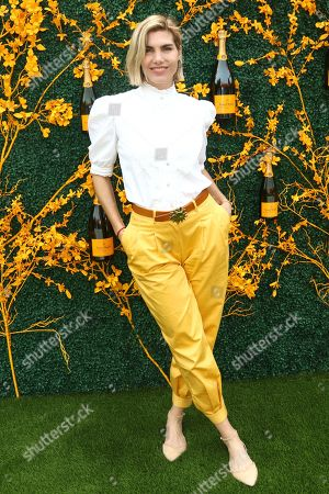 Delfina Blaquier attends the 12th annual Veuve Clicquot Polo Classic at Liberty State Park, in New Jersey