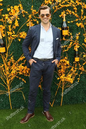 Andrew Rannells attends the 12th annual Veuve Clicquot Polo Classic at Liberty State Park, in New Jersey
