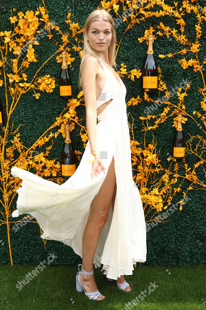 Daphne Groeneveld attends the 12th annual Veuve Clicquot Polo Classic at Liberty State Park, in New Jersey