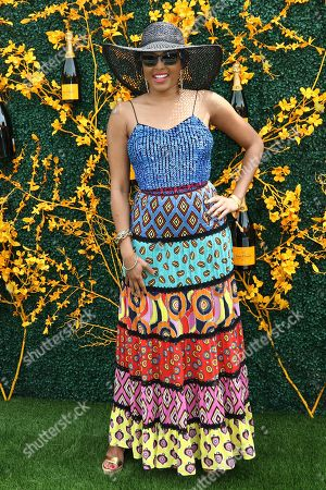 Alicia Quarles attends the 12th annual Veuve Clicquot Polo Classic at Liberty State Park, in New Jersey