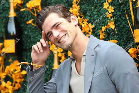 Sean O'Pry attends the 12th annual Veuve Clicquot Polo Classic at Liberty State Park, in New Jersey