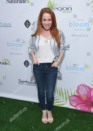 Editorial photo of Bloom Summit, Arrivals, Los Angeles, USA - 01 Jun 2019