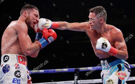 Editorial image of Algiere Coyle Boxing, New York, USA - 01 Jun 2019