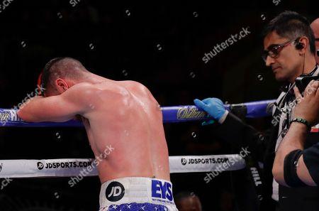 Editorial photo of Algiere Coyle Boxing, New York, USA - 01 Jun 2019