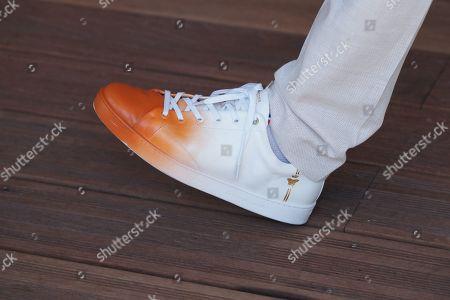 Henri Leconte, Shoe Detail