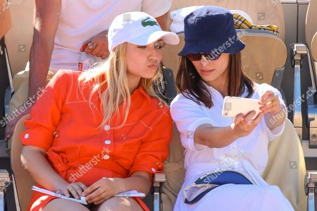 Stock Picture of Chloe Jouannet and Lola Le Lann