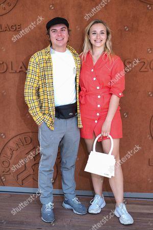 Chloe Jouannet and Zacharie Chasseriaud