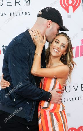 Stock Photo of Mike Caussin, Jana Kramer