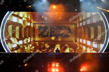 Zedd performs at Wango Tango, at Dignity Health Sports Park in Carson, Calif