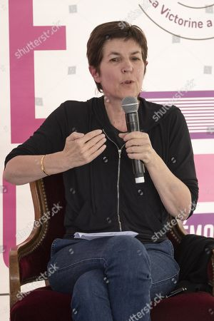 Stock Picture of Christine Angot