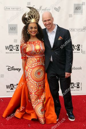 Editorial picture of Wearable Art Gala, Arrivals, Barker Hangar, Santa Monica, Los Angeles - 01 Jun 2019