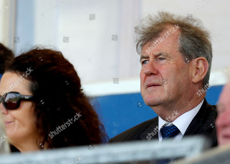 Waterford vs Limerick. JP McManus attends the game