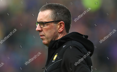 Clare vs Tipperary. Clare's joint manager Gerry O'Connor