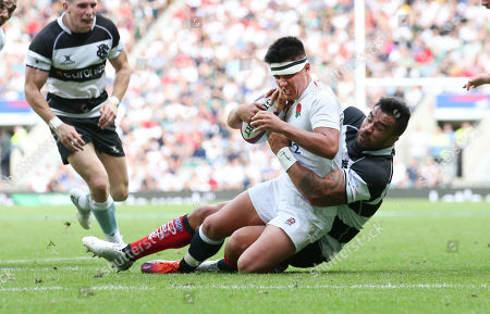 Editorial picture of England XV v Barbarians, Quilter Cup, Rugby Union, Twickenham Stadium, London, UK - 02 Jun 2019
