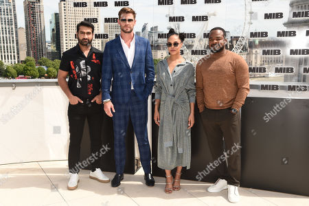 Kumail Nanjiani, Chris Hemsworth, Tessa Thompson and F. Gary Gray