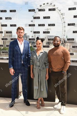 Chris Hemsworth, Tessa Thompson and F. Gary Gray